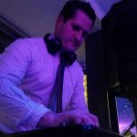 DJ Romo at wedding